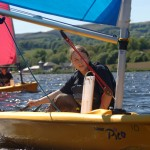 Sailing on Semple Loch