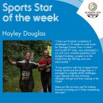 Hayley SportStar of the Week Glasgow 2014