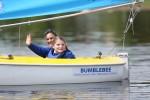 Nicole gives a wave