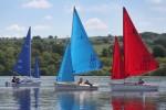 Dinghies sailing R2tg