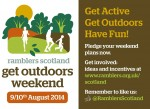 Ramblers Scotland Get Outside 9-10 Aug