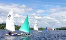 Access dinghies racing CSL  crop