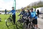 The mountain bike riders return