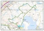 Greenock bog stomp route map 2016